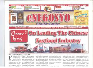 On Leading the Chinese Fastfood Industry (Chowking's Success Story)