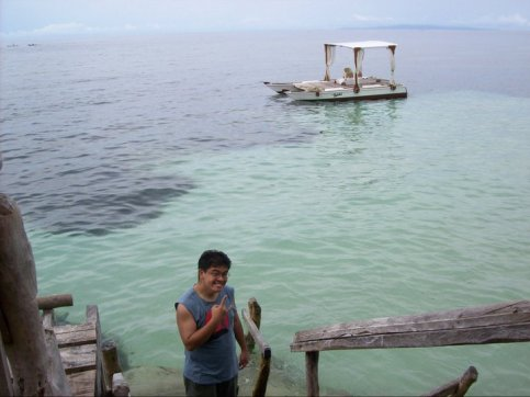 No, it's not in Maldives!  It's in Bohol!  :-)